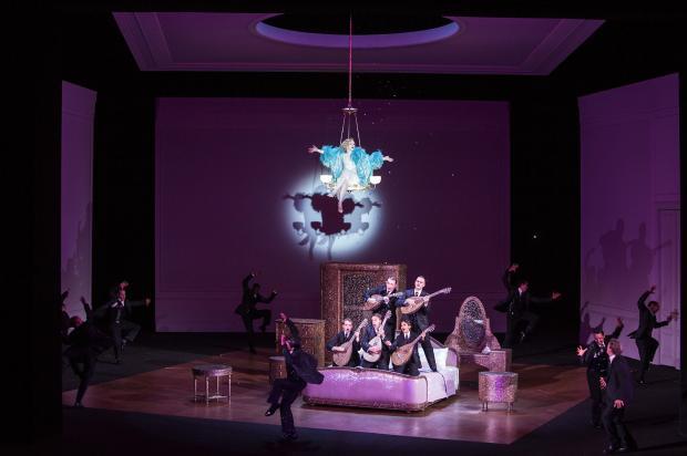 sic In Den Raum Des Oper Paris 1763 sicht Optische Blick Auf Die Schutz- Nahm